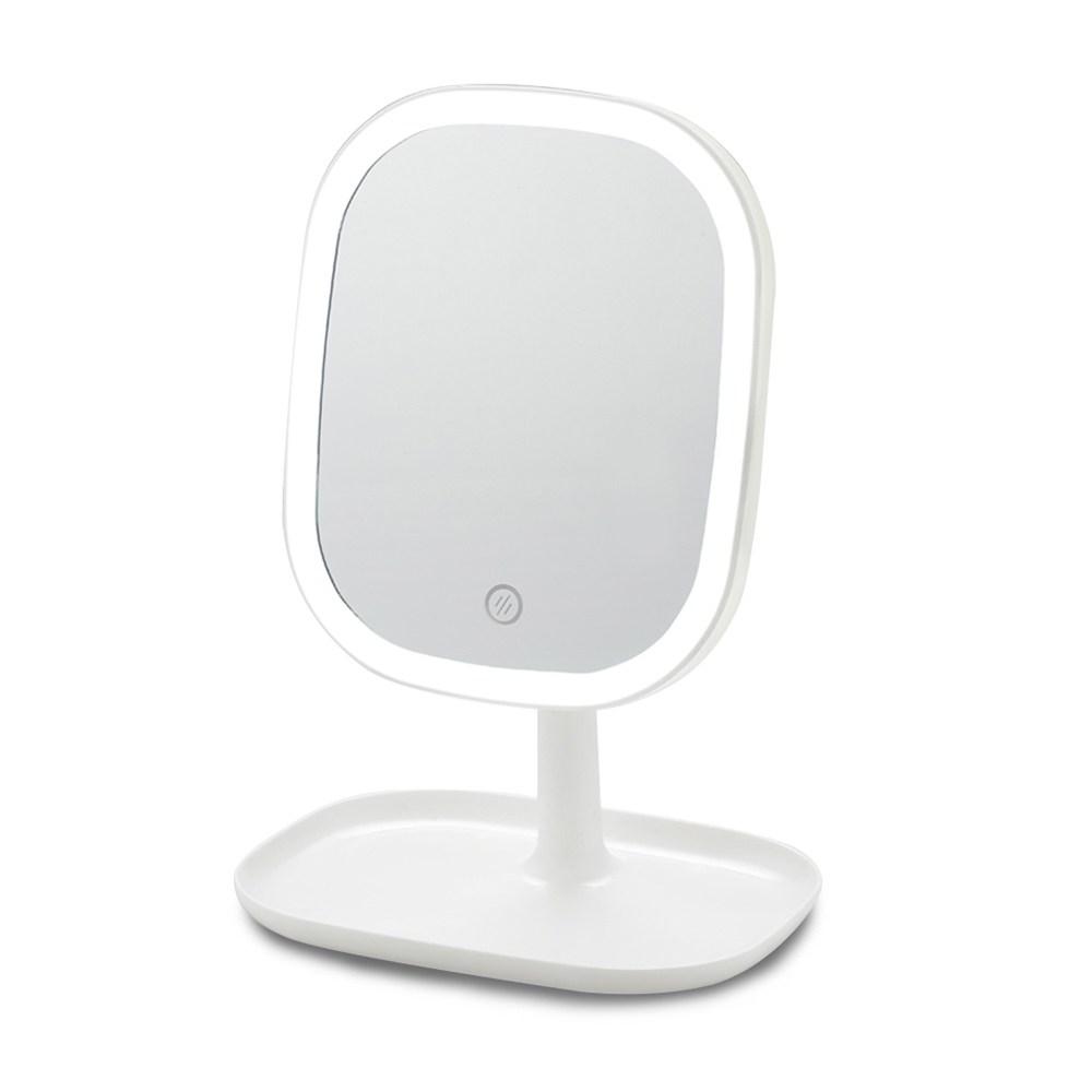 LED桌上化妝鏡推薦1. Mr.box LED智能補光高清加大化妝鏡