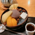 あんみつ - 実際訪問したユーザーが直接撮影して投稿した神楽坂和菓子・甘味処紀の善の写真のメニュー情報