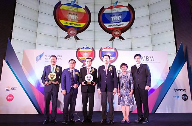 TIP รับรางวัลเกียรติยศ Thailand's Top Corporate Brand 2019 ประกันภัยที่มีมูลค่าแบรนด์องค์กรสูงสุด