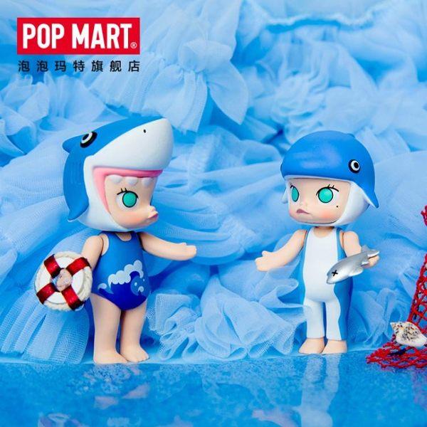 泡泡瑪特 Molly海洋系列盲盒手辦公仔娃娃潮玩手辦擺件