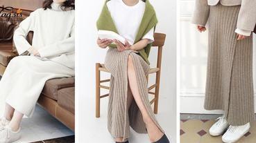 2017的冬天,女生都買了!暖暖「毛冷裙」穿搭法,打造溫暖柔和系女生!