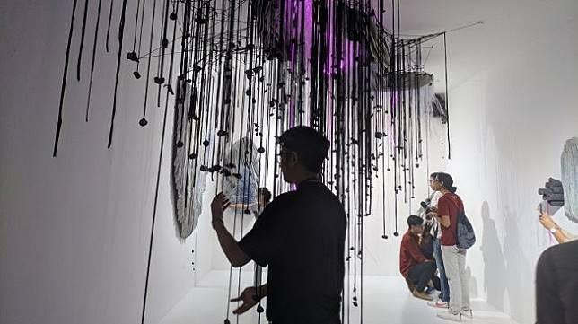 ARTJOG 2019 sukses gaet lebih dari 100 ribu pengunjung. (Suara.com/Putu Ayu)
