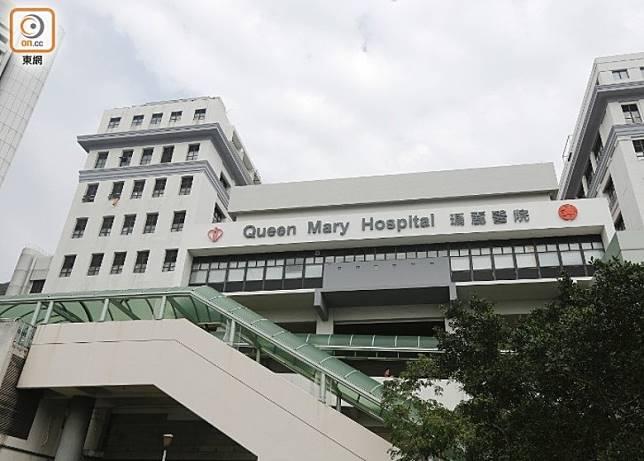 一個月大女嬰染腸病毒,曾留醫瑪麗醫院。