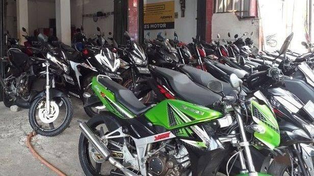 Ilustrasi motor sport 150 cc