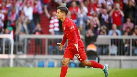 Cetak Gol Debut Coutinho Berterima Kasih pada Lewandowski