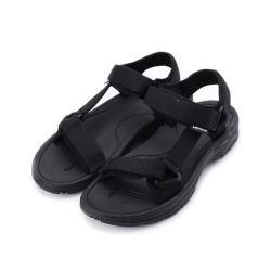AIRWALK 織帶休閒涼鞋 黑灰 A821230120 男鞋 鞋全家福(8MOUT)