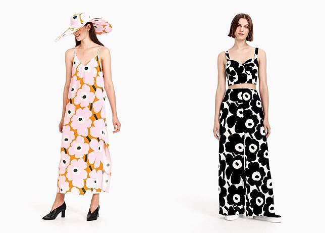系列包括不同剪裁的連身裙、短身上衣、Tee、闊褲及各款夏日必備的帽子。(互聯網)
