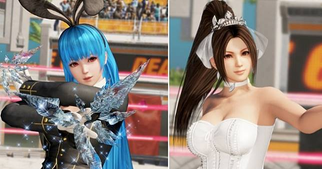 《生死格鬥6》x《拳皇 XIV》合作角色不知火舞+古娜正式參戰!