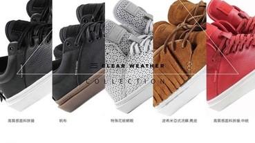 美國西岸時尚休閒鞋履CLEAR WEATHER 即將登台