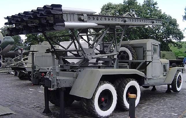 Roket Katyusha. Kredit: Wikipedia