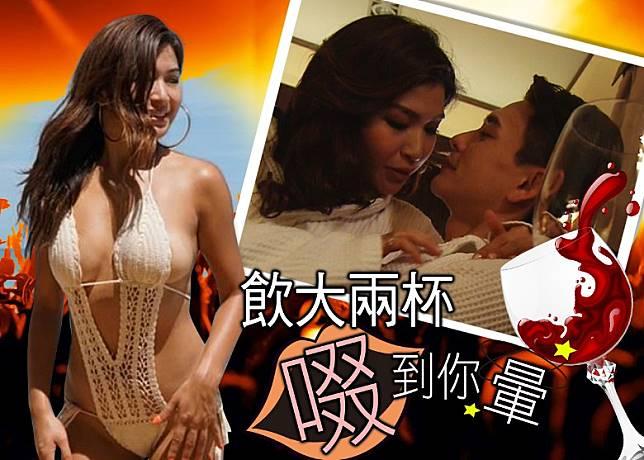 陳偉琪劇中同黃宗澤有唔少親密鏡頭,戲外亦相當Wild!(設計圖片)