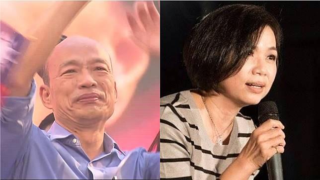 韓粉動怒竟湧入「台灣羚聲」辱罵阿羚。圖/TVBS資料畫面(左)、台灣羚聲臉書(右)