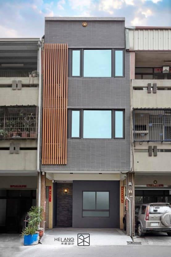 5. 以整棟外牆作為裝飾平面