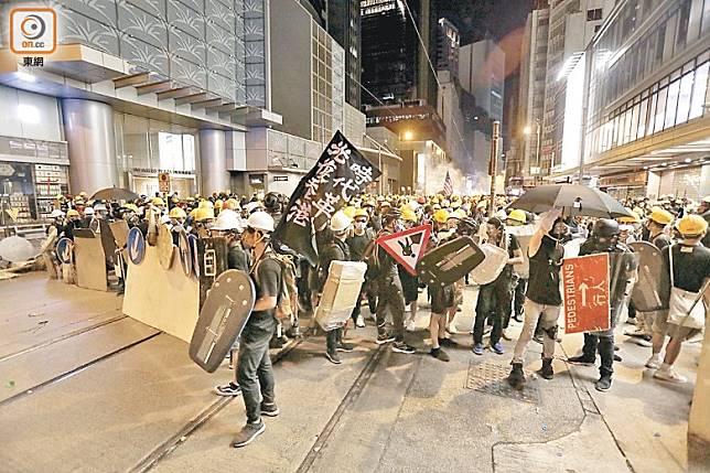 連串反修例示威衝突,嚴重影響各行業生意。