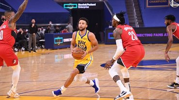 NBA/咖哩小子發威!Curry 轟 62 分創個人得分新高,狂噴不講理三分射爆拓荒者