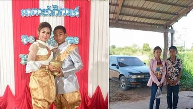pengantin belia di Kamboja viral