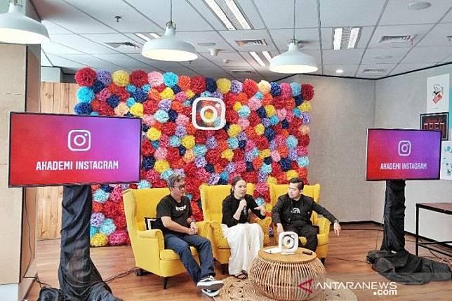 Peluncuran Akademi Instagram di kantor Instagram, Jakarta, Jumat, 19 Juli 2019. Kredit:ANTARA News/Maria Cicilia Galuh
