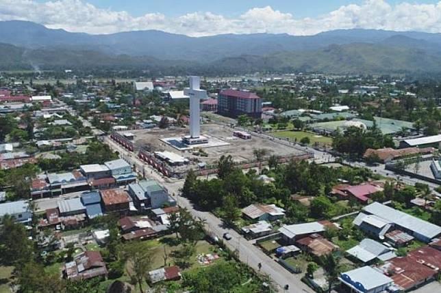 PUPR rampungkan penataan kawasan Menara Salib Wamena