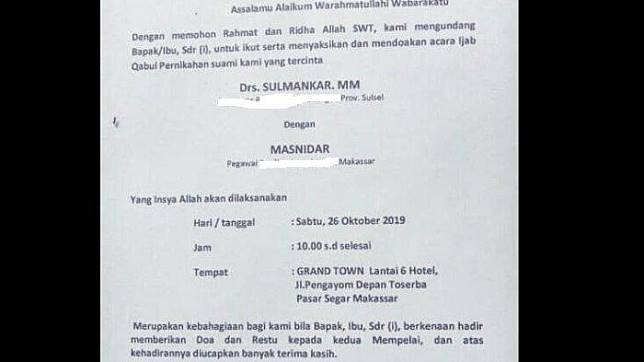 Rela Dipoligami Seorang Guru Di Makassar Ikhlas Nikahkan