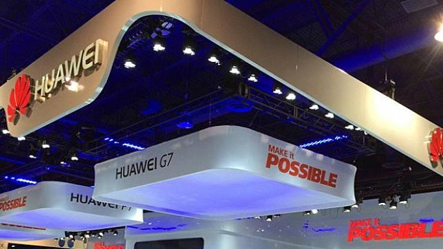 Booth Huawei