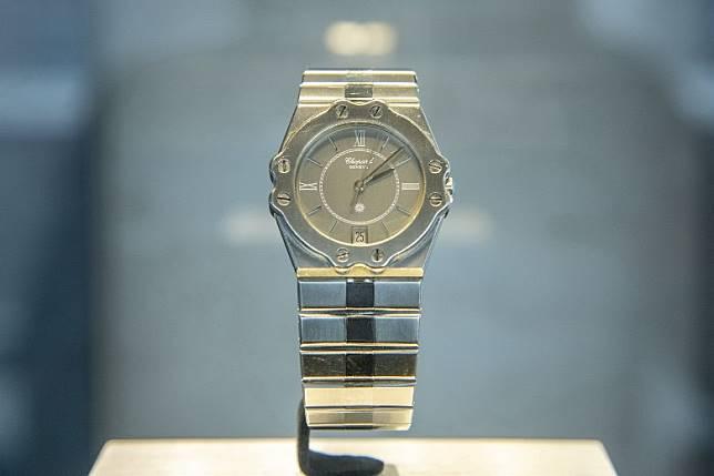 Alpine Eagle設計源自Chopard 1980年品牌現任聯合總裁Karl-Friedrich Scheufele推出的首款腕錶St. Moritz。(互聯網)