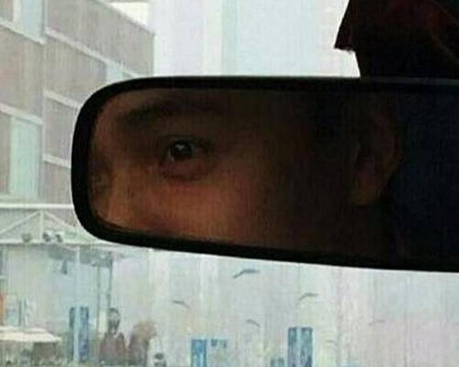 這位司機最似張國榮的地方就是一對水汪汪的眼睛。