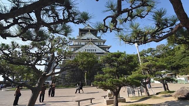 Ilustrasi lokasi wisata di Osaka di Distrik Chuoku, Osaka, Jepang, Selasa (25/6). ANTARA FOTO/Indrianto Eko Suwarso