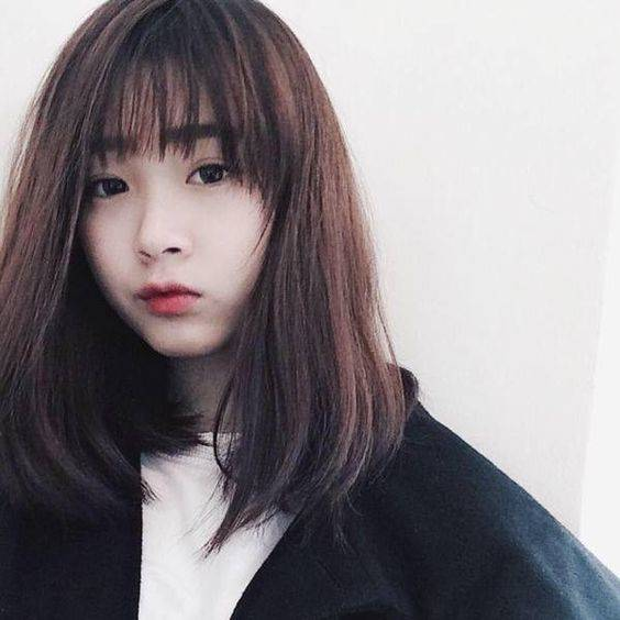 Quot ปล่อยผมหน้าม้า Quot ให้แบ๊วแบบสาวเกาหลี รับหน้าหนาว
