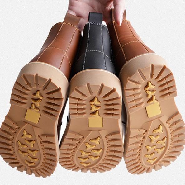 切爾西馬丁靴 短靴 短筒靴 長靴 靴 鞋 真皮 切爾西 馬丁靴 中筒短靴 【C0012】