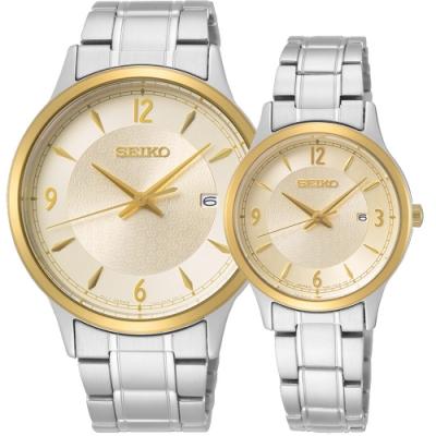 原廠公司貨 生活防水100米,日期視窗 石英50 周年紀念款 情侶對錶必備款