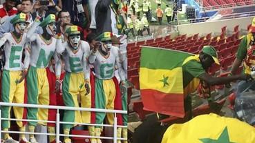 〔2018世足賽〕世界盃塞內加爾球迷同樣自動自發,賽後整理現場垃圾!