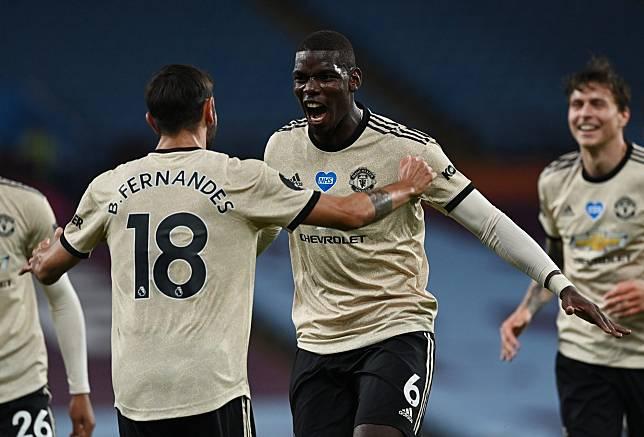 Premier League - Aston Villa v Manchester United
