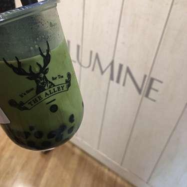 実際訪問したユーザーが直接撮影して投稿した西新宿タピオカTHE ALLEY ルミネ新宿店の写真