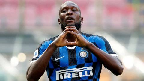 Bahagianya Lukaku, Selebrasi Inter Milan Juara Liga Italia di Jalan