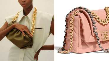 2020年包包關鍵字是「粗鏈帶」!Chanel、BV到LV全跟上,要酷要優雅一包搞定