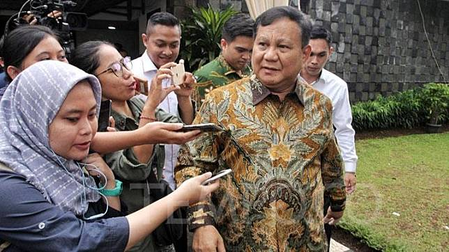 Defense Minister Prabowo Subianto. TEMPO/Hilman Fathurrahman W