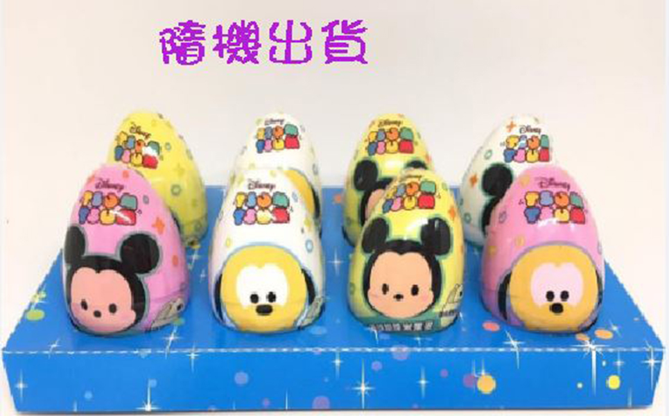 迪士尼Tsum Tsum脆果蛋【隨機出貨】*1個