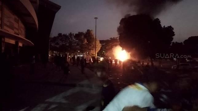 PSIM Yogyakarta vs Persis Solo Rusuh.