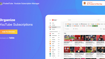 YouToube 訂閱清單雜亂無章?讓 PocketTube 擴展外掛幫分類整理(Chrome / Firefox)