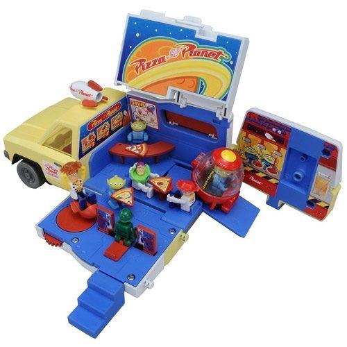 迪士尼 玩具總動員 披薩星球 貨櫃收納車 小汽車 COCOS NN1000