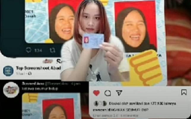 Viral Foto KTP Tertawa! Netizen Penasaran Cerita Dibaliknya