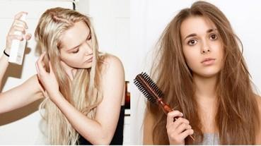 留意5大 漂髮護理 事項 再也不怕頭髮打結了!