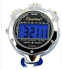 金屬電子秒錶計時器專業裁判比賽田徑跑步訓練運動健身單雙排60道曼莎時尚