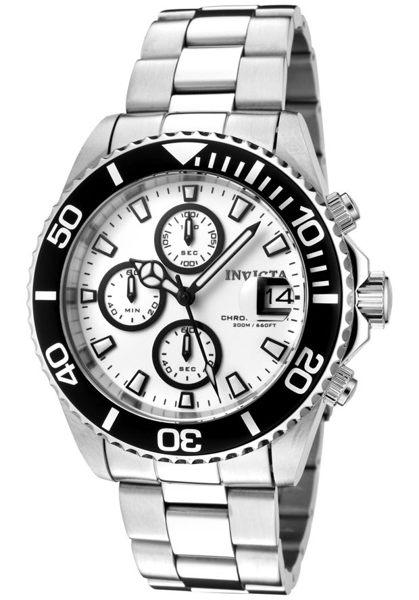 INVICTA潛水員系列-經典三眼計時腕錶