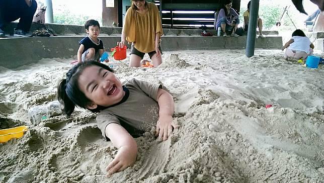 4大主題沙坑任你玩    十三行親子共遊新熱點