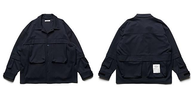 Multi Pockets Military Shirt(互聯網)