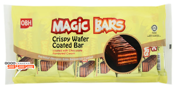 【吉嘉食品】Magic Bars 威化餅(巧克力) 1包12g*15入,產地馬來西亞 [#1]{9557217755748}
