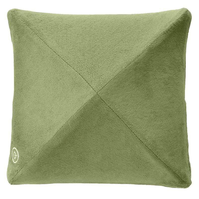 日式溫熱揉捏按摩抱枕AX-HL148 - 茶綠