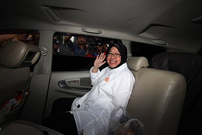 Surabaya Mayor Tri Rismaharini.