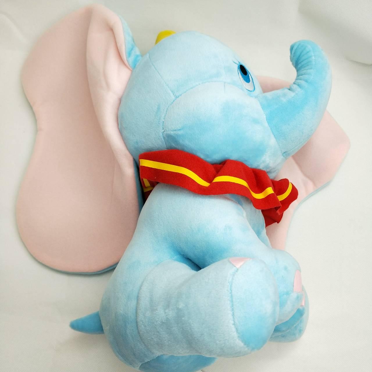 大賀屋 正版 小飛象 娃娃 枕頭 抱枕 頸枕 靠枕 玩具 玩具 迪士尼 午安枕 抱枕 T00120468